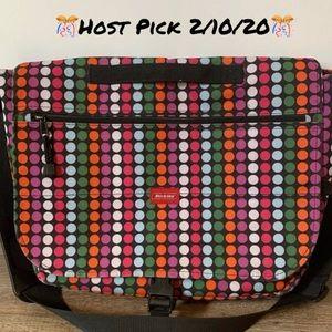 🌸 Dickies Multi color Polka Laptop Bag